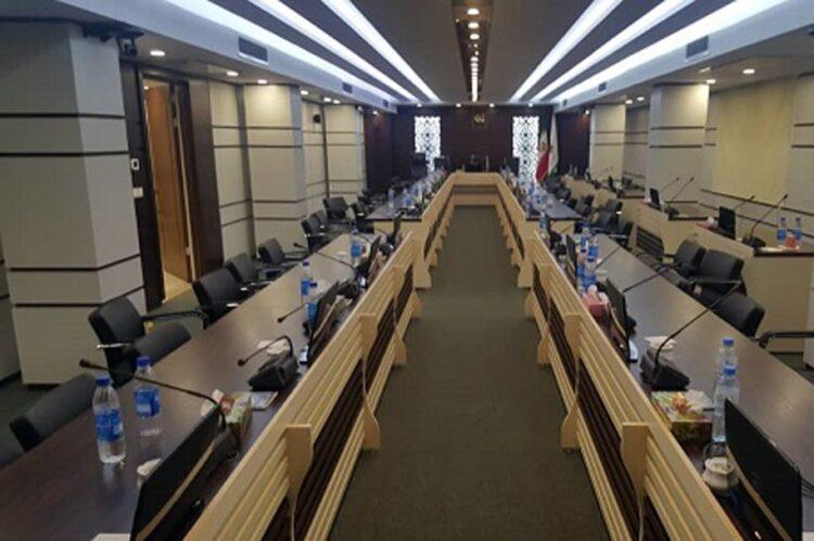 بازسازی سالن کنفرانس