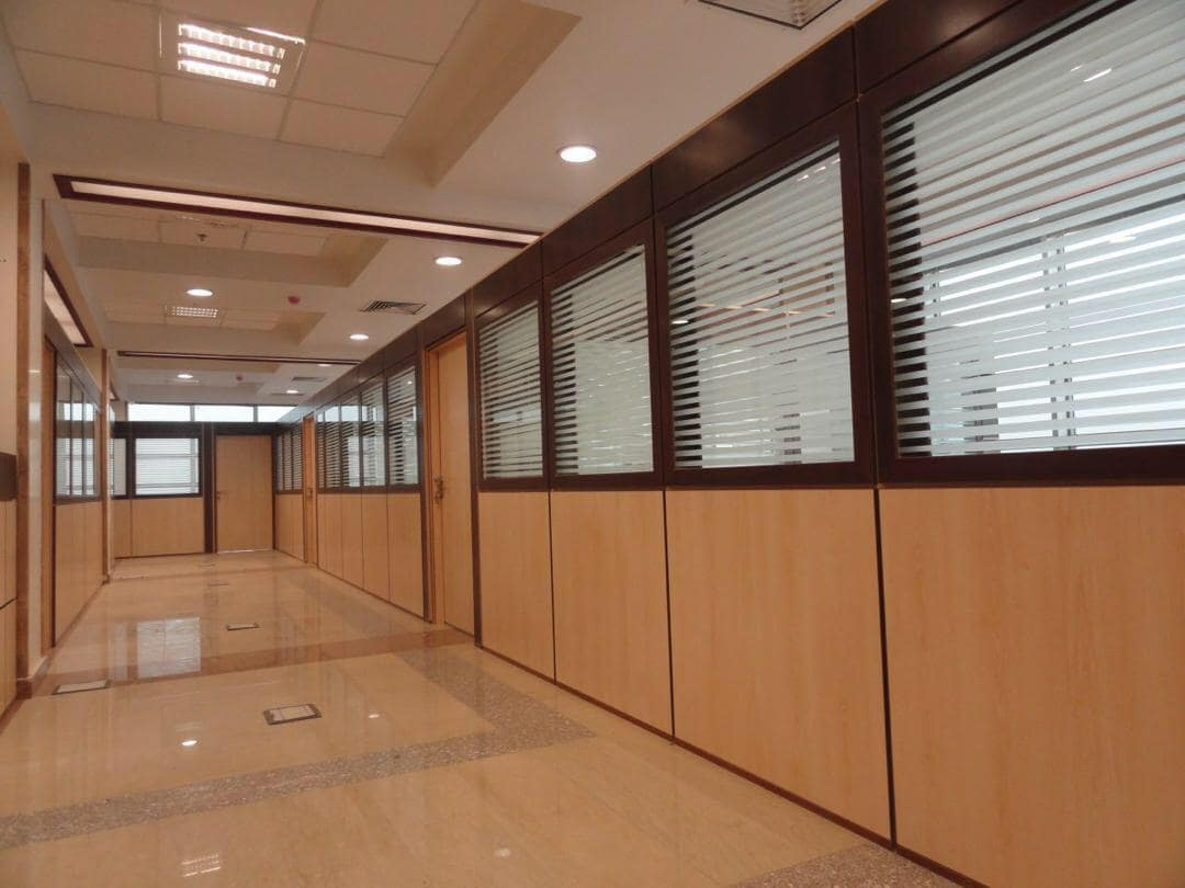 پارتیشن بندی فضای اداری سازمان امور مالیاتی