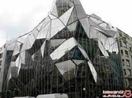 معرفی انواع ساختمان شیشه ای